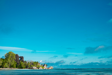 Photo for The most beautiful beach of Seychelles - Anse Source DArgent - Royalty Free Image