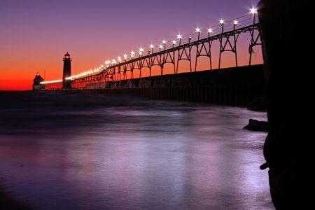 Pier catwalk