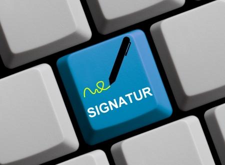 Online Signature