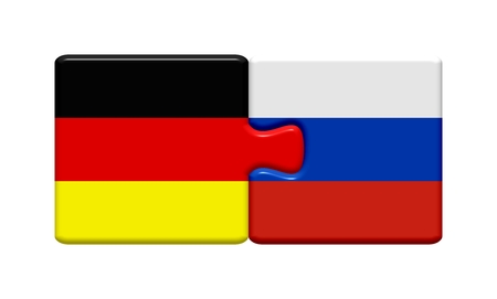 Pieces  Germany and Russia together