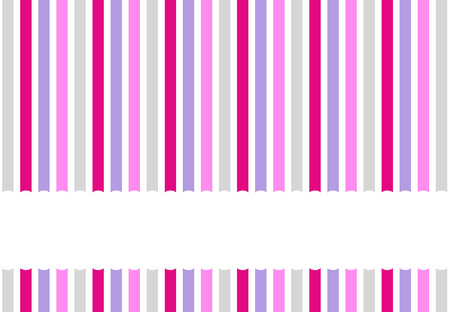 Background pattern with stripes pink grey purple white and empty space for your text