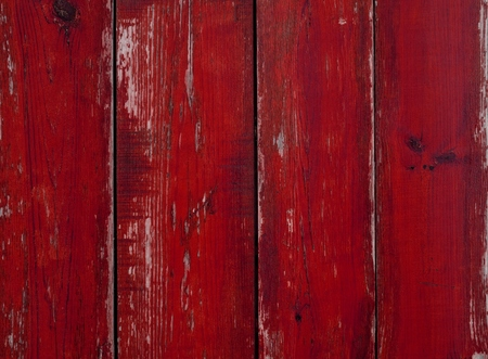 Photo for Wooden background with old weathered red planks - Royalty Free Image