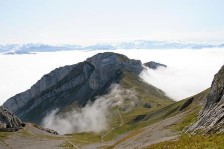 Photo pour Mount Pilatus, Switzerland - image libre de droit