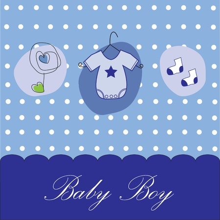 Photo for Baby Boy Background - Royalty Free Image