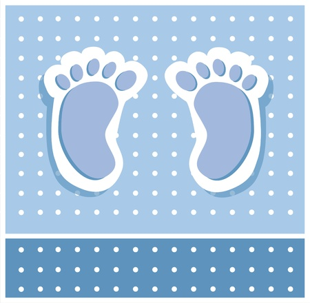 Photo for Baby Boy Feet - Royalty Free Image