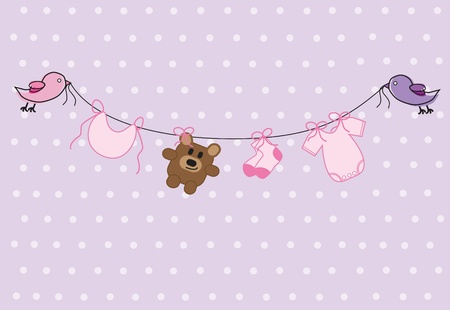 Photo for Baby Girl Shower - Royalty Free Image