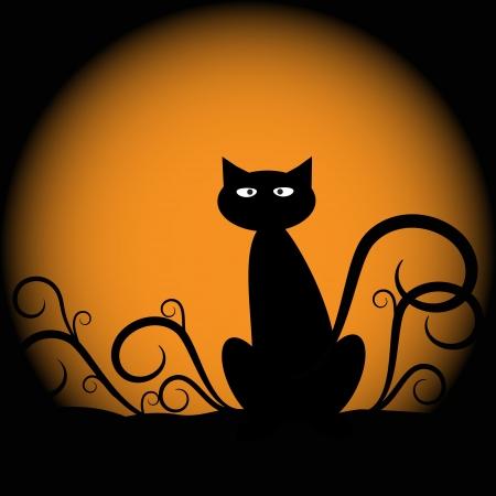Illustration pour Halloween Cat - image libre de droit