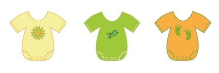 Photo for Neutral Baby Clothes - Royalty Free Image