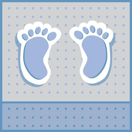 Foto de Baby Boy Feet - Imagen libre de derechos