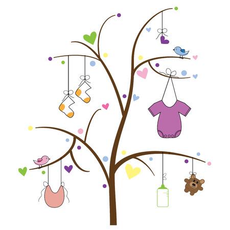 Photo pour Baby Item Tree - image libre de droit