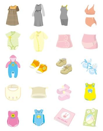 Photo pour Baby supplies - image libre de droit