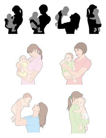 Foto de Childcare / Woman - Imagen libre de derechos