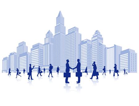 Ilustración de Business - Imagen libre de derechos