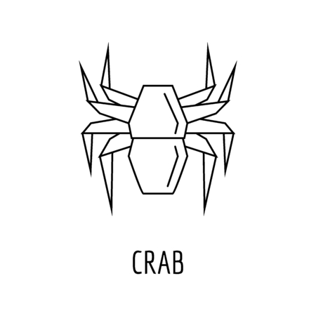 Origami crab. How to make paper crab - YouTube | 450x450