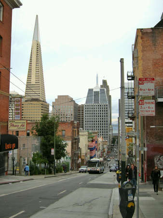 Downtown San Francisco during daytime.