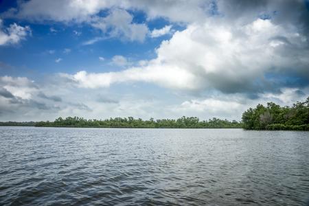 SRI LANKA. BENTOTA . Bentota River.