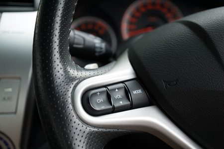 Steering wheel commands and control of a modern car