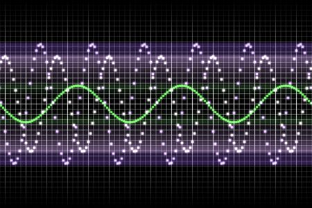 Sound Equalizer Rhythm Music Beats in Various Colors