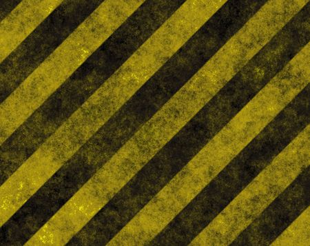 Hazard Danger Background Texture With Common Black and Yellow Stripes
