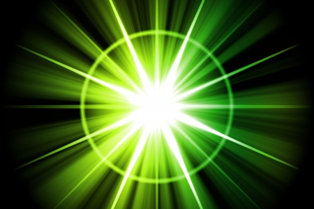 Green Star Sunburst Abstract Background Wallpaper Texture