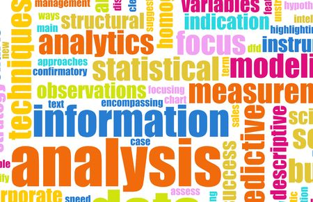 Information Analysis Process Concept as a Art