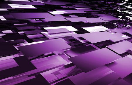 Web Futuristic Technology Background as a Art