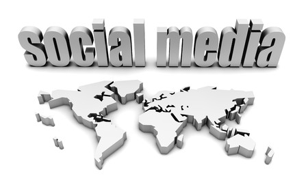 Photo for Social Media Platform For A Global Audience - Royalty Free Image