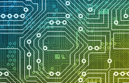 Computer Circuits Background Texture as a Design