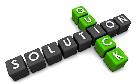 Quick Solution or Fix in Solving a Problem