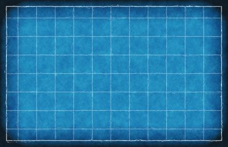 Foto de An Engineering Background with Blue Lines Art - Imagen libre de derechos