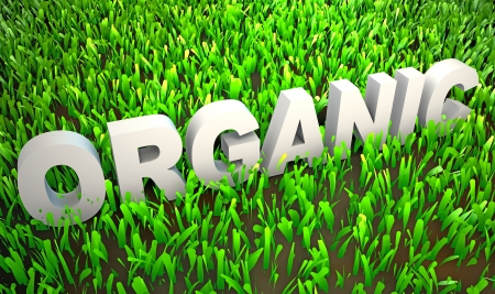 Orgranically Grown in Organic Environment as 3d