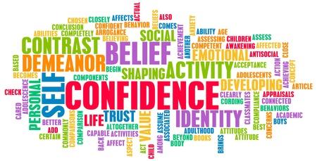 Foto de Confidence in Personal Belief and Self Developing - Imagen libre de derechos