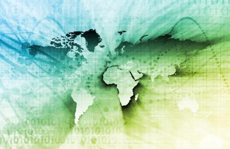 Futuristic World Map