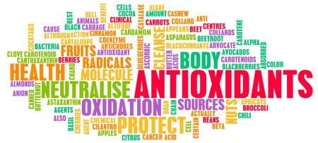 Foto für Antioxidants Concept or Anti Oxidants or Antioxidant - Lizenzfreies Bild