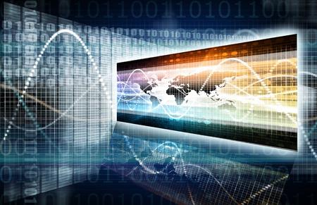 Photo pour Software Security in Technology System Data Art - image libre de droit