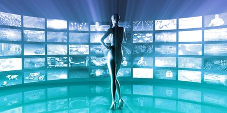 Photo pour Healthcare Technology and Monitoring Medical As Art - image libre de droit