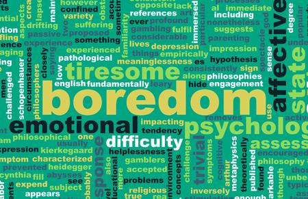 Bored or Boredom as a Concept Art