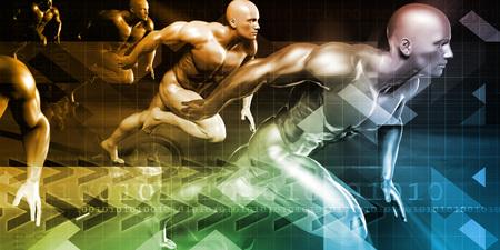 Photo pour Healthcare Research Technology and Solutions as a Concept - image libre de droit