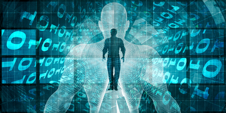 Foto de Digital Transformation and Adopting New Technology Solutions - Imagen libre de derechos