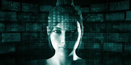 Photo pour New Technology Business Concept of the Next Generation - image libre de droit