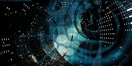 Photo pour Multimedia Technology Digital Devices Information Concept Art - image libre de droit