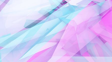 Photo for Creative Concept Abstract Background with Crystal Shapes Line - Royalty Free Image