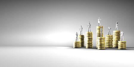 Photo pour Employee Compensation Report and Salary Review - image libre de droit