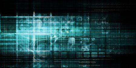 Photo pour Cyber Security Professional as a Digital Concept Art - image libre de droit