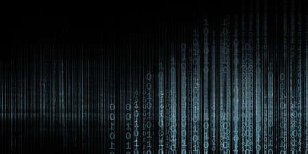 Photo pour Data Surveillance and Monitoring Privacy Security Concept - image libre de droit