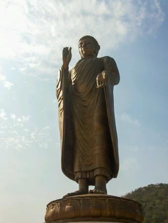 Buddha stature on sukonthip temple