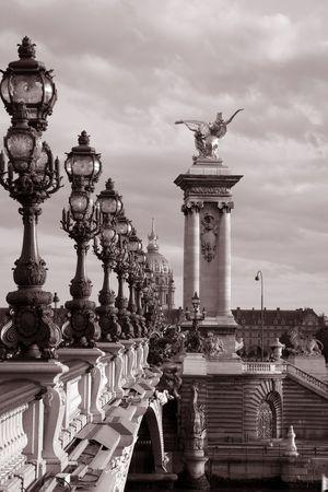 Foto de Pont Alexandre III Bridge, Paris, France, Europe - Imagen libre de derechos