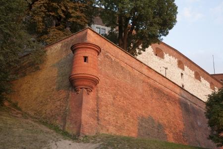 City Walls, Wawel Hill; Krakow; Poland