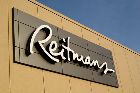 TRURO, CANADA - JUNE 12, 2017: Reitmans Ltd. is a women's attire retail company. Reitmans has stores in all provinces and territories of Canada.