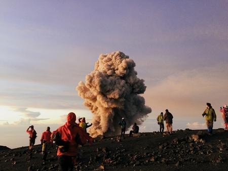 Mount Semeru eruption